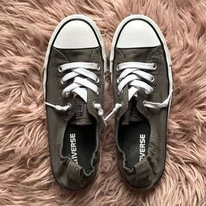 Olive Green Converse Sneakers